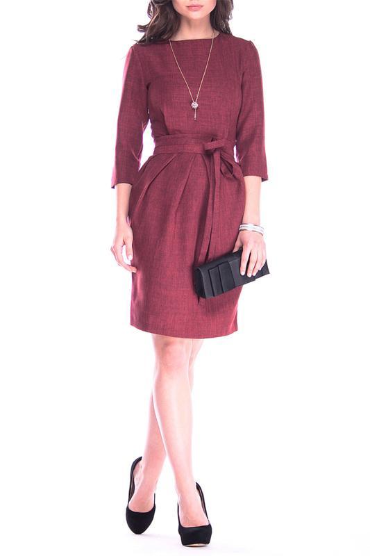 Офисное платье-футляр MAURINI