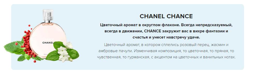 НАБОР CHANEL CHANCE